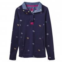 Joules Peachy Ladies Loopback Sweatshirt (T)