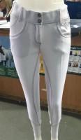 Loveson Bling Snaffle Ladies White Breeches