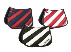 HKM Boston Stripes Saddle Cloth