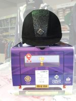Charles Owen YR8 Sparkly Riding Hat - Regular Fit / Round Fit