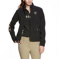 Ariat Ladies Team Softshell Jacket Black- 10010818