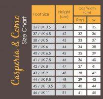 Brogini Casperia 3D Stretch Long Leather Boot - 2401