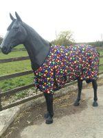 White Horse Equestrian Multi-Spot Bubble Lightweight Turnout
