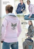 Esperado Army Ladies Sweat Jacket- 16035
