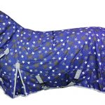 White Horse Super 200g Combo Horse Turnout Rug - Blue Star