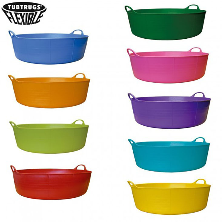 Tubtrugs Flexible tubs / Feed Skip / Shallow Bucket – SP5P 5litre ...