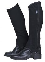 HKM Half Chaps Imitation Nubuck Leather - 6202