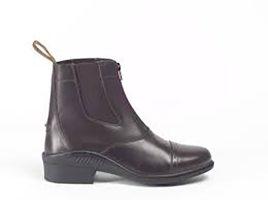 Brogini Short Jodhpur Boots with front Zip - 401