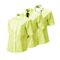 Equetech 3 in 1 Competition Shirt - Yellow and White