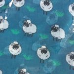Fenside Sheep Design Scarf - Various Colours REDUCED NOW £5.00