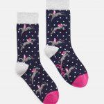 Joules Brillbamset Socks - Horse design 3 pairs