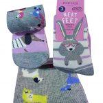 Joules Neat Feet Junior Socks- YJNRBRILBAMGDOG