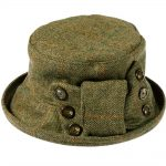 Peak and Brim Clara Tweed Hat